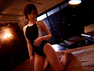 Couple,Hardcore,Asian,Japanese,Compilations,Natural Tits Nerdy hot Japanese girl in glasses...