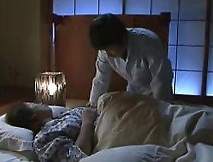 Sleeping,Asian,Japanese,Couple Fucking The Sleeping Busty Asian
