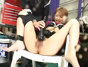 BDSM,Bondage,Torture Pretty Japanese girls get their vags...