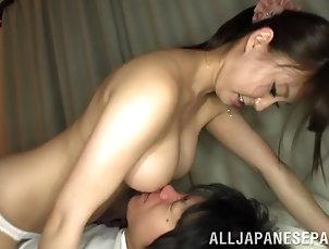 Hardcore,Asian,Japanese,Long Hair Nasty Japanese hot ass lady Yuka...