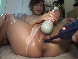 HD,Couple,Hardcore,Asian,Japanese,Oiled,Wet T-shirt,Natural Tits Oil up that Japanese babe and fuck...