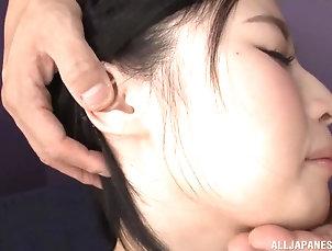 Couple,Japanese,Natural Tits Imanaga San's hot body ravished...