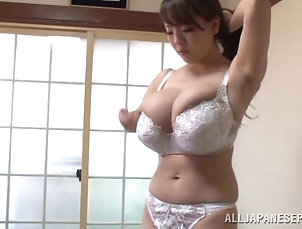 Group Sex,Hardcore,Asian,Japanese,Big Tits,Natural Tits,Bikini,Panties Long haired Japanese bitch in bra...