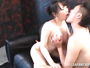 Hardcore,Couple,Asian,Japanese,Big Tits Japanese babe makes out with a guy...