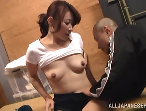 Natural Tits,Asian,Japanese,Couple,Hardcore,Amateur,Reality Japanese hussy gets her pussy licked...