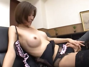 Couple,Hardcore,Asian,Japanese,Casting Captivating Asian doll drilled...