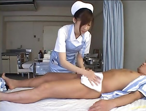 Amateur,Asian,Brunettes,Couple,Hardcore,Japanese,Nurses,Uniform Miyu Only Does Her Nurse Duty To Get...