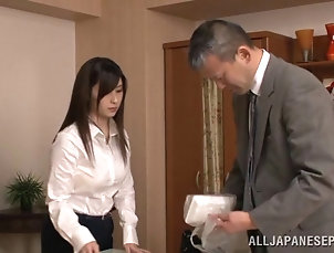 Couple,Hardcore,Reality,Asian,Japanese She climbs the corporate ladder by...