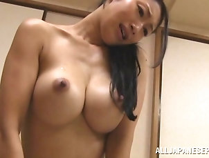 Couple,Japanese,Long Hair,Big Tits,Natural Tits Amateur homemade video of passionate...