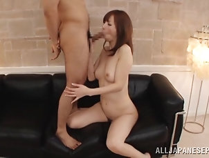 Asian,Japanese,Redhead,Couple,Hardcore Sizzling Rina Rukawa gets banged in a...