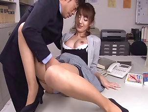 Hardcore,Asian,Japanese,College,Teachers,Reality Excited girl keeps her skirt on as...