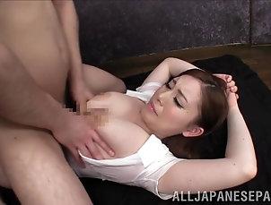 Couple,Hardcore,Asian,Japanese,Big Tits,Natural Tits,Big Nipples sexy asian babe with big nipples...