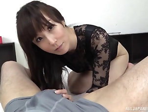 Couple,Hardcore,Asian,Japanese Up close action of her orally...