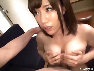 Couple,Hardcore,Asian,Japanese,Natural Tits Beautiful Nozaki is definitely among...