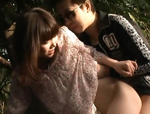 Asian,Hardcore,Outdoor,Japanese,Forest Sex Extremely Horny Megumi Shiino Gets...