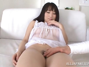 Asian,Japanese,Hardcore Japanese tart shows her cunt to a guy...