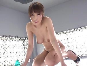 Solo Models,Japanese,Natural Tits,Masturbation,Toys Solo Japanese model Ayami Shunka has...