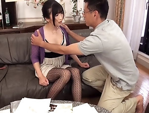 Couple,Hardcore,Asian,Japanese Japanese beauty Hibiki Ohtsuki ends...