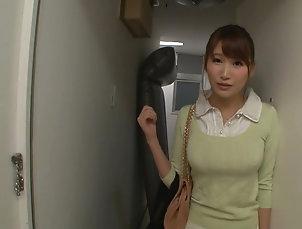 POV,Japanese,Natural Tits,Fetish,Foot Fetish Honoka Mihara sucking feet and a...