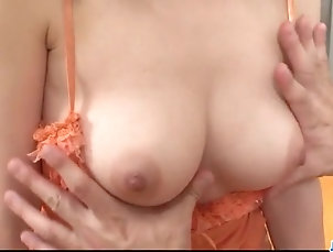 Asian,Japanese Busty Mai Serizawa goes nasty on a...