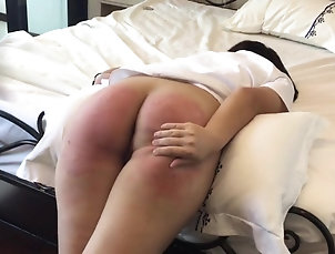 Fetish,Spanking,BDSM Asian slave Vanida gets a firm...