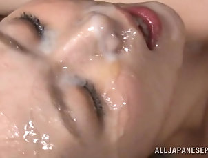 Reality,Couple,Hardcore,Asian,Japanese,Natural Tits,Pantyhose,Fishnet,Thong Steamy Brunette Rides Like A Horny...