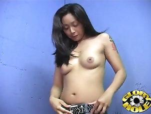 Hardcore,Asian,Gloryhole,Reality,Long Hair,Tattoo Tattooed Asian babe with long hair...