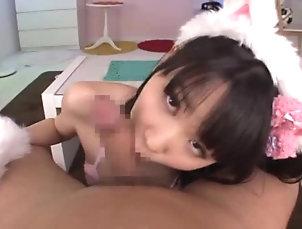 Brunettes,Asian,Babes,Japanese Japanese kitty Uruha Mizuki enjoys...