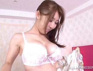 Reality,Couple,Hardcore,Asian,Japanese,Miniskirt,Bra Gorgeous Azumi Kinoshit Goes Really...