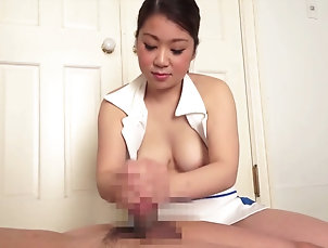 HD,Couple,Hardcore,Asian,Japanese,Natural Tits Cock stroking Japanese girl takes out...