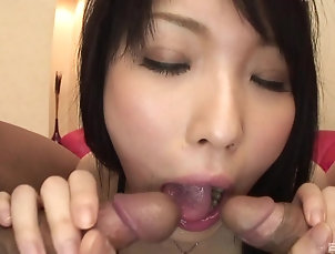 Close Up,Japanese,Pussy,Hairy One hard dick is not enough to please...