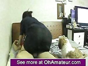 Amateur Hidden Cam Catches an Amateur Asian...