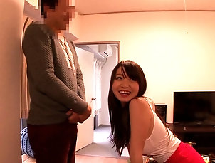 Couple,Hardcore,Asian,Japanese,Shorts Cutie Aika Yumeno lets her fella slam...