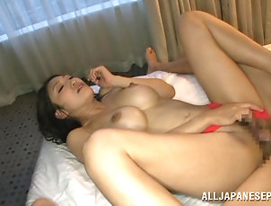 Asian,Japanese,MILF,Cougars,Big Tits,Couple,Hardcore Rough sex with the horny Asian babe...
