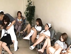 Asian,Nurses,Japanese,Reality Japanese AV Model cute doctor is...