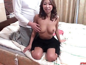 96::Asian,115::Blowjob,212::Lingerie,231::POV,803::Japanese,7706::HD,100 Miku Natsukawa endures heavy sex in...