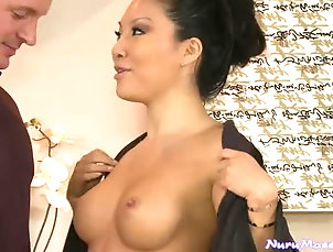 Asian,Brunettes,Natural Tits,Couple,Hardcore,Reality,Tattoo,Nice Ass,Shower Gorgeous Asian Masseuse Gives An...