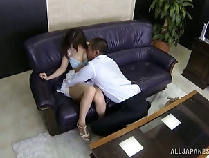 Doggystyle,Hairy,Natural Tits,Asian,Couple,Hardcore,Japanese Japanese babe with a hairy pussy...
