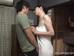 Asian,Couple,Hardcore,Japanese,Reality,MILF Cute Brunette Goes Hardcore With A...