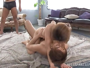 Japanese,Asian,Natural Tits,Bra,Gangbang,Hardcore Slutty Japanese bitch gets her pussy...