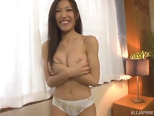 Couple,Japanese,Big Tits,Natural Tits Bug-titted Yui Sasaki has her cute...