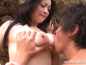 Reality,Couple,Hardcore,Asian,Japanese,Outdoor,Beach,MILF,Cougars,Natural Tits,Doggystyle Hot sex on the beach with the busty...