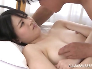 Asian,Couple,Hardcore,Japanese,Natural Tits Spectacular Asian Girl Gets Banged...
