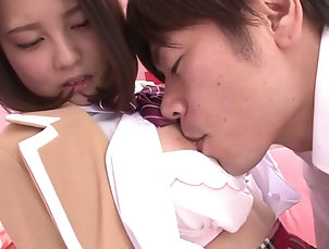 Hardcore,Asian,Japanese,Natural Tits,Compilations Cutie with breathtaking big natural...
