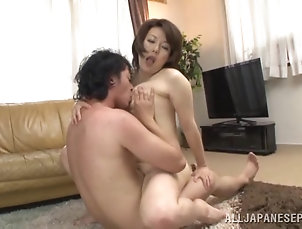 Hardcore,Couple,Asian,Japanese,MILF,Cougars Succulent Brunette Goes Really...