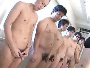 Gangbang,Japanese Nazuna Otoi gangbanged till the guy...