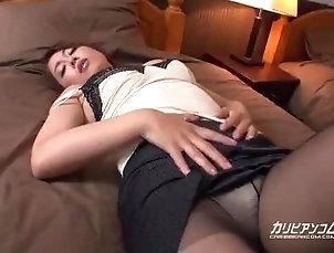 caribbeancom;masturbate,Creampie;Masturbation;60FPS;Japanese;Pussy Licking;Solo Female 【無】美人コンシェルジュの誘惑...