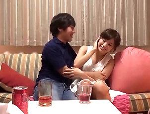 Couple,Hardcore,Asian,Japanese Is Kanon Akiyoshi ready to be drilled...