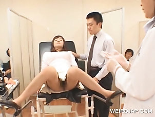 Asian,Group Sex,Hardcore,Reality,Japanese Teen asian getting pussy checked
