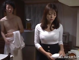 Amateur,Asian,Couple,Cum In Mouth,Hardcore,Japanese,POV,Swallow Hot milf gets her Japanese pussy...
